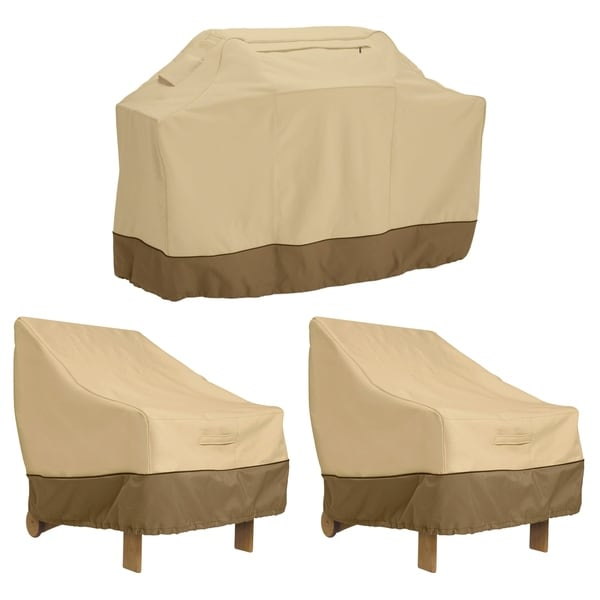 large chair covers for sale revolving flipkart shop classic accessories veranda grill cover and patio lounge bundle