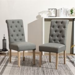 Pictures Of Modern Living Room Chairs Black White And Grey Decor Buy Contemporary Kitchen Dining Online At Habit Solid Wood Tufted Parsons Chair Set 2
