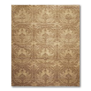 Michaelian & Kohlberg Transitional Oriental Hand Knotted Area Rug - Multi