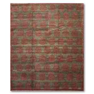 Damask Michaelian & Kohlberg Peshawar Design Oriental Hand Knotted Area Rug - Multi