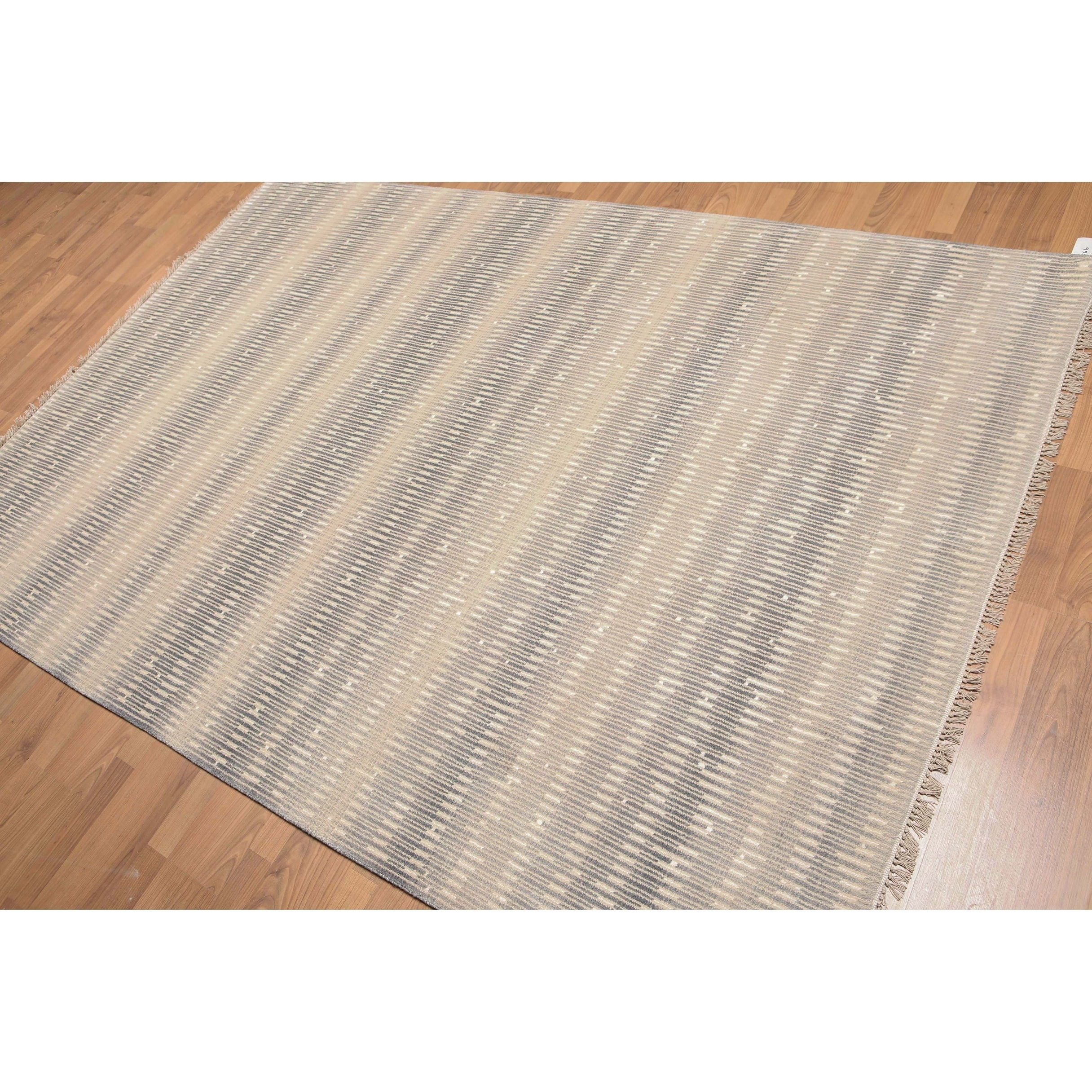 Industrial Glam Oriental Hand Knotted Area Rug - Multi