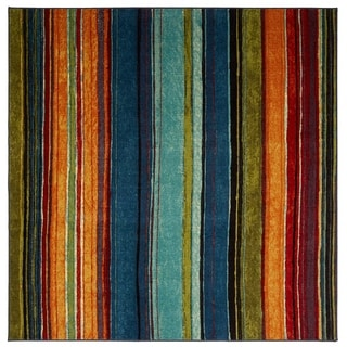 green kitchen rug antique brass hardware rugs find great home decor deals shopping at the curated nomad sultan striped multicolor area