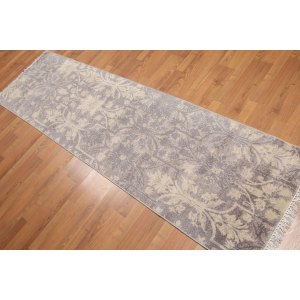 Botanical Transitional Runner Oriental Area Rug - Multi