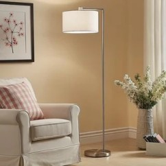 Floor Lamp Living Room Ottoman Coffee Tables Buy Lamps Online At Overstock Com Our Best Lighting Deals Strick Bolton Ohlson Brushed Steel