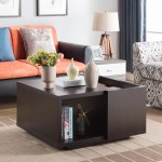 Furniture Of America Nost Contemporary Storage Coffee Table Overstock 20603294