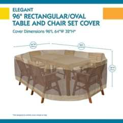 Patio Table And Chair Set Cover Wingback Buy Furniture Covers Online At Overstock Com Our Best Deals