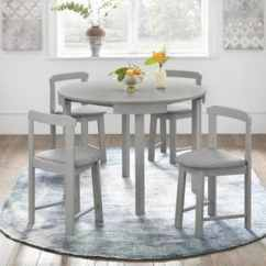 Gray Kitchen Chairs Banquette Seating Buy Grey Dining Room Sets Online At Overstock Com Our Harrisburg 5 Piece Tobey Compact Round Set