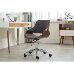 Desk Chair Casters Desks From Walmart Shop Porthos Home Adjustable Height Modern Office Caster Wheels