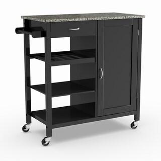rolling cart for kitchen closet buy carts online at overstock com our best furniture deals