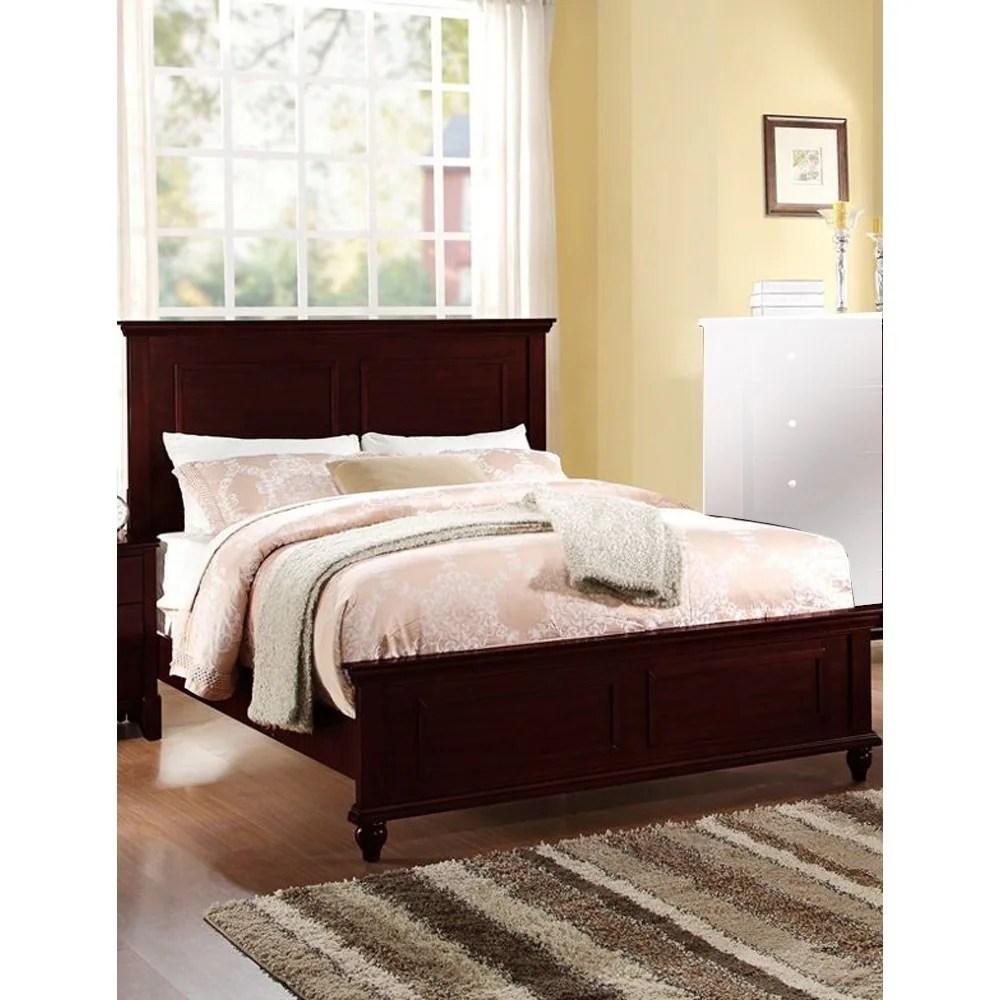 exemplary wooden california king bed dark cherry