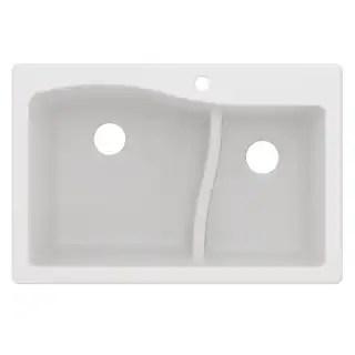 19x33 kitchen sink banquette bench buy drop in sinks online at overstock com our best deals kraus kgd 442 quarza 33 undermount dual mount 60