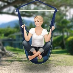 Rope Chair Swing Folding Parts Shop Sorbus Hanging Hammock Seat For Any Indoor Or Outdoor Spaces Free Shipping On Orders Over 45 Overstock Com 20684576
