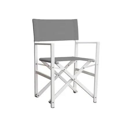 aluminum directors chair leg glides shop studio folding director s dark grey free x27
