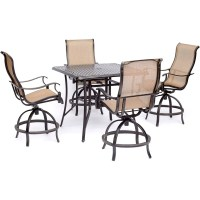 Shop Hanover Manor 5-Piece High-Dining Set with 42 In ...