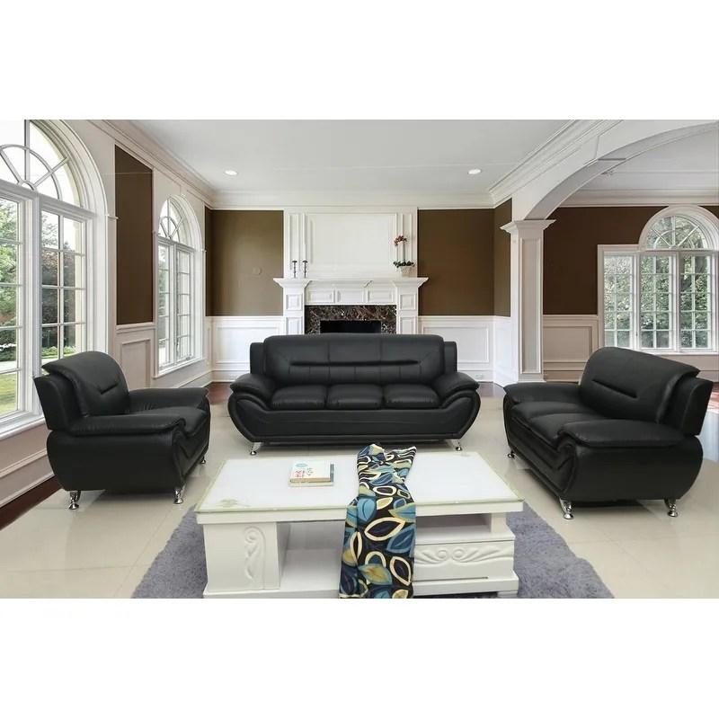 Shop Michael Segura 3pc Living Room Set On Sale Overstock 20758040 Grey