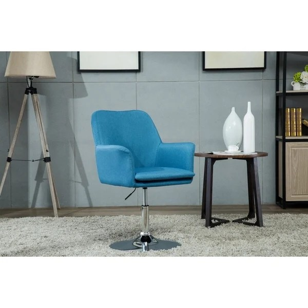office chair pedestal dining covers ikea shop porthos home fabric swivel desk with padded arms