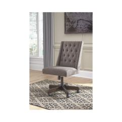 Chair Design Program Wedding Cover Shop Signature By Ashley Office Graphite Home Swivel On Sale Free Shipping Today Overstock Com 20847418