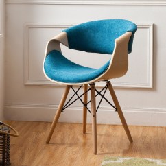 Teal Colored Chairs Chair And A Half Swivel Rocker Recliner Shop Corvus Adams Contemporary Blue Accent Free Shipping On Orders Over 45 Overstock Com 20882592