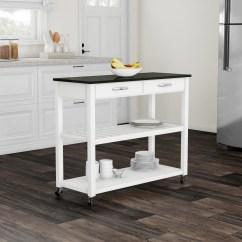 Granite Top Kitchen Cart Cabinets San Diego Porch Den Keap Solid Black Island With Optional
