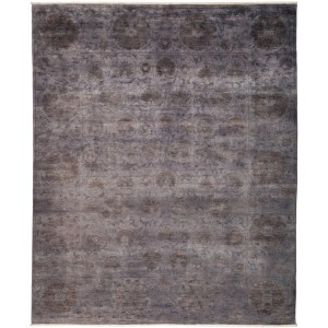 "Vibrance Overdyed Gray Area Rug - 8' 2"" x 9' 10"""
