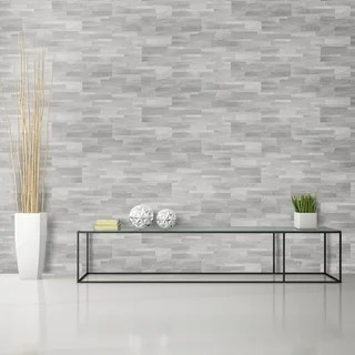 grey kitchen tile carpenter cabinet buy backsplash tiles online at overstock com our best deals bolder stone 6in x 24in self adhesive wall smoke 6