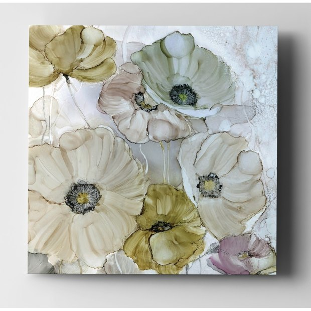 Iridescent Poppies - Premium Gallery Wrapped Canvas