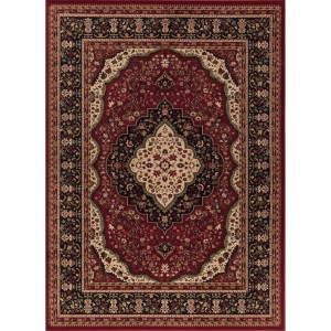 Concord Global Ankara Katrina Red Rug - 2'7 x 4'