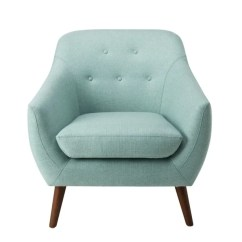Aqua Accent Chair Plush Animal For Toddlers Shop Homepop Monroe Modern Tufted On Sale