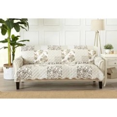 Stretch Morgan 1 Piece Sofa Furniture Cover Bed Slipcovers Jcpenney Tan Covers Find Great Home Decor Deals Bay Patchwork Scalloped Stain Resistant Printed Protector