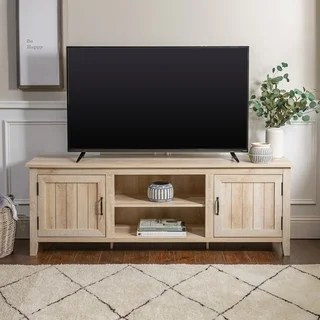 tv stands for living room grey and aubergine buy online at overstock com our best the gray barn wind gap 70 console with side beadboard doors x
