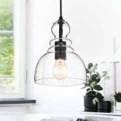 Kitchen Pendant Lights Natural Cleaner Buy Lighting Online At Overstock Com Our Best Nefelt Matte Black 1 Light Decanter Seeded Glass
