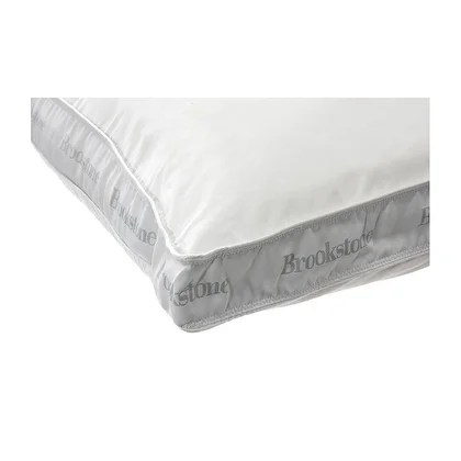 brookstone temperature regulating firm side sleeper pillow