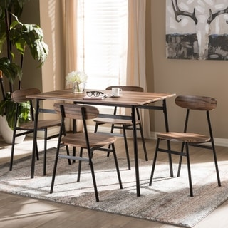 studded dining room chairs power wheel buy 5 piece sets kitchen online at overstock com our best bar furniture deals