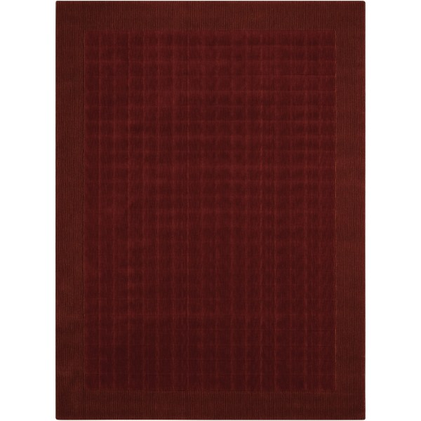 Calvin Klein Loom Select Sienna Red Area Rug Nourison