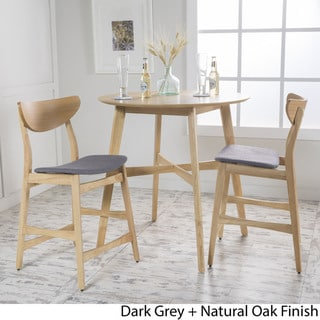 round table and chairs set leather dining walnut legs buy kitchen room sets online at overstock com our best bar furniture deals