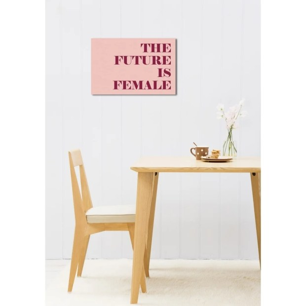 Oliver Gal 'The Future is Female' Canvas Art