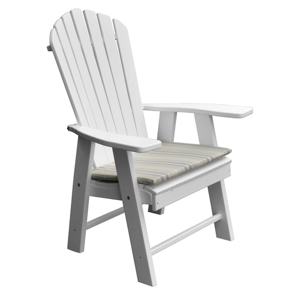 Shop Poly Upright Adirondack Chair  Free Shipping Today