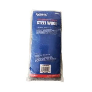 Robtec #0 Steel Wool, Fine Grade (12-Pack)