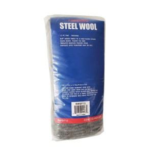 Robtec Grade #0000 Steel Wool, Super Fine Grade (12-Pack)