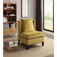 Accent Chair Yellow High For Toddler Shop Modish Velvet Free Shipping Today Overstock Com 21691511