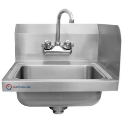 Commercial Kitchen Sink 30 Inch Square Table Shop Eq 1 Compartment Stainless Steel Free Shipping Today Overstock Com 21710457
