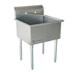 Commercial Kitchen Sink Crosley Alexandria Island Shop Eq 1 Compartment Stainless Steel Free