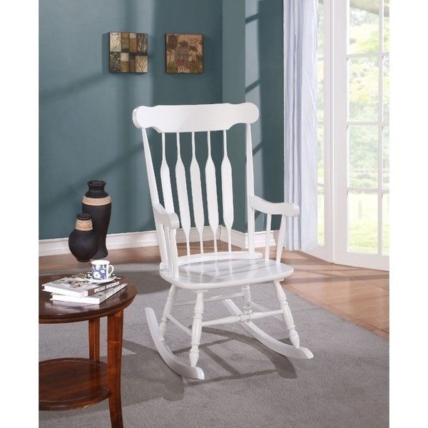 white wood rocking chair design ideas shop wooden on sale free shipping today overstock com 21710993