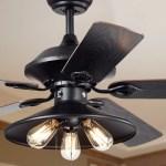 Shop Black Friday Deals On Upille 3 Light Metal 5 Blade 52 Inch Matte Black Ceiling Fan Optional Remote Available Overstock 21723973
