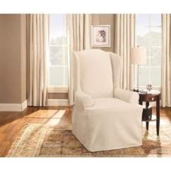 Chair Covers Cotton Red High Heel Buy Recliner Wing Slipcovers Online At Sure Fit Duck Slipcover