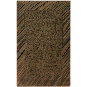 Overdyed Peshawar Glory Gray/Rust Area Rug (4'7 x 6'4) - 4 ft. 7 in. x 6 ft. 4 in.