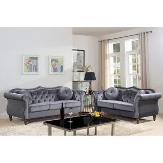 grey leather living room set shabby chic decor buy furniture sets online at overstock com our best deals