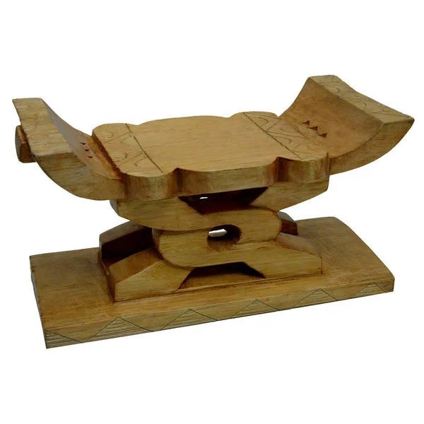 stool chair ghana office max folding chairs shop handmade ashanti unity free shipping today