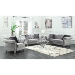 Dark Grey Laminate Flooring Living Room 2 Blue And Beige Ideas Shop Frostine Piece Set On Sale Free Shipping