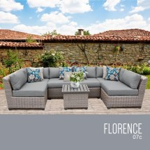 florence 7 piece outdoor wicker